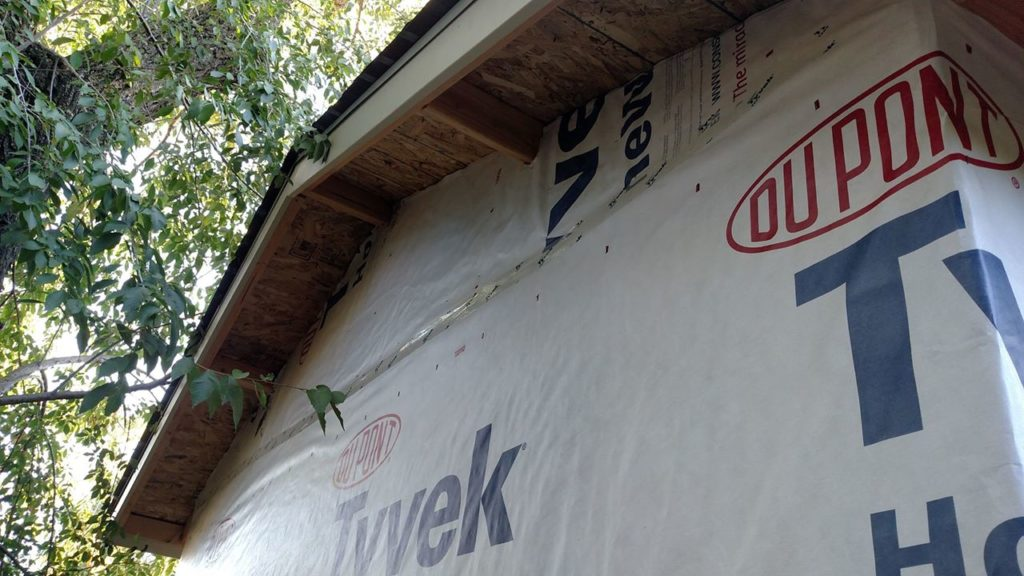 Tyvek front view